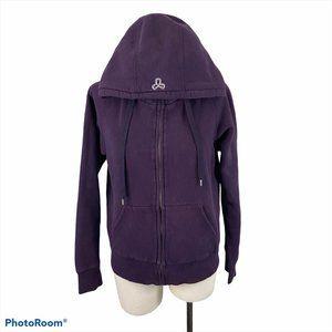 TNA Purple Zip Up Sweater